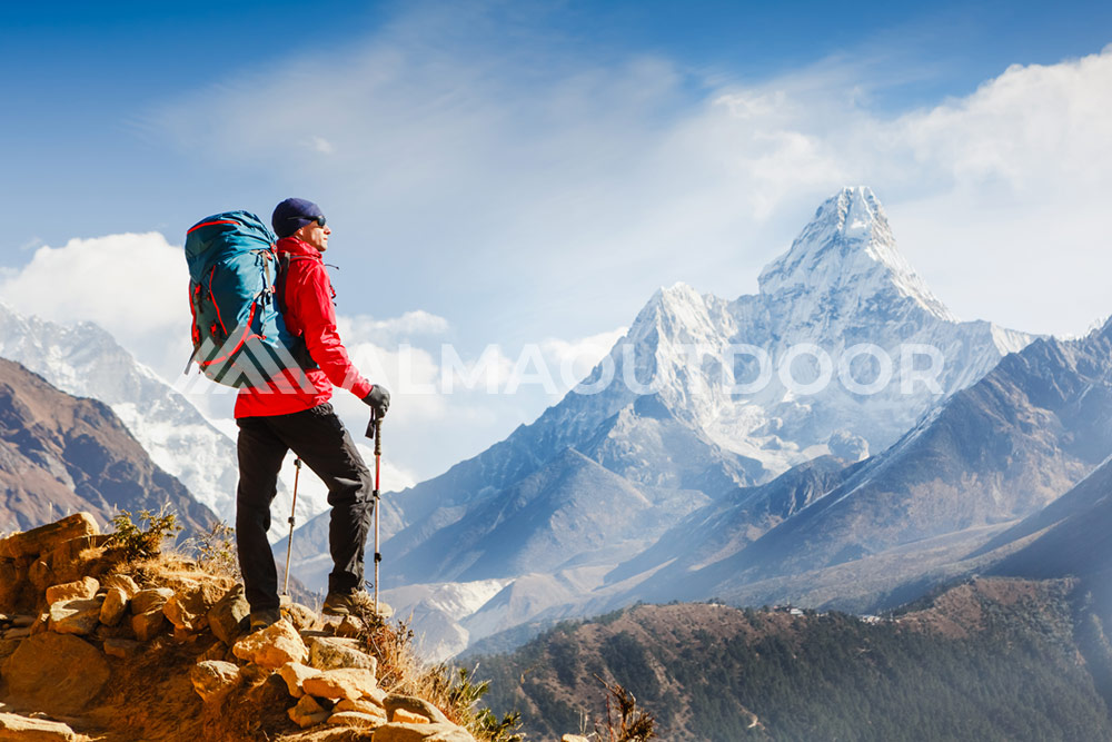 Teoría de capas para vestir en Montaña