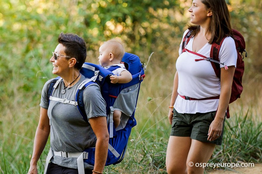 Mochila portabebé osprey Poco