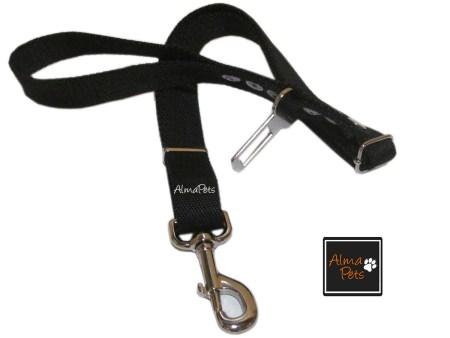 Correa de paseo y Cinturon de seguridad reglamentario para mascotas