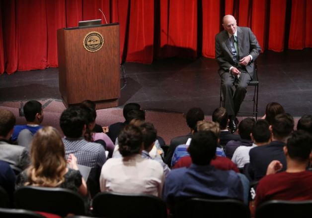 Justice Anthony Kennedy Talking to Cal State San Bernardino Political Science Students in 02/2015