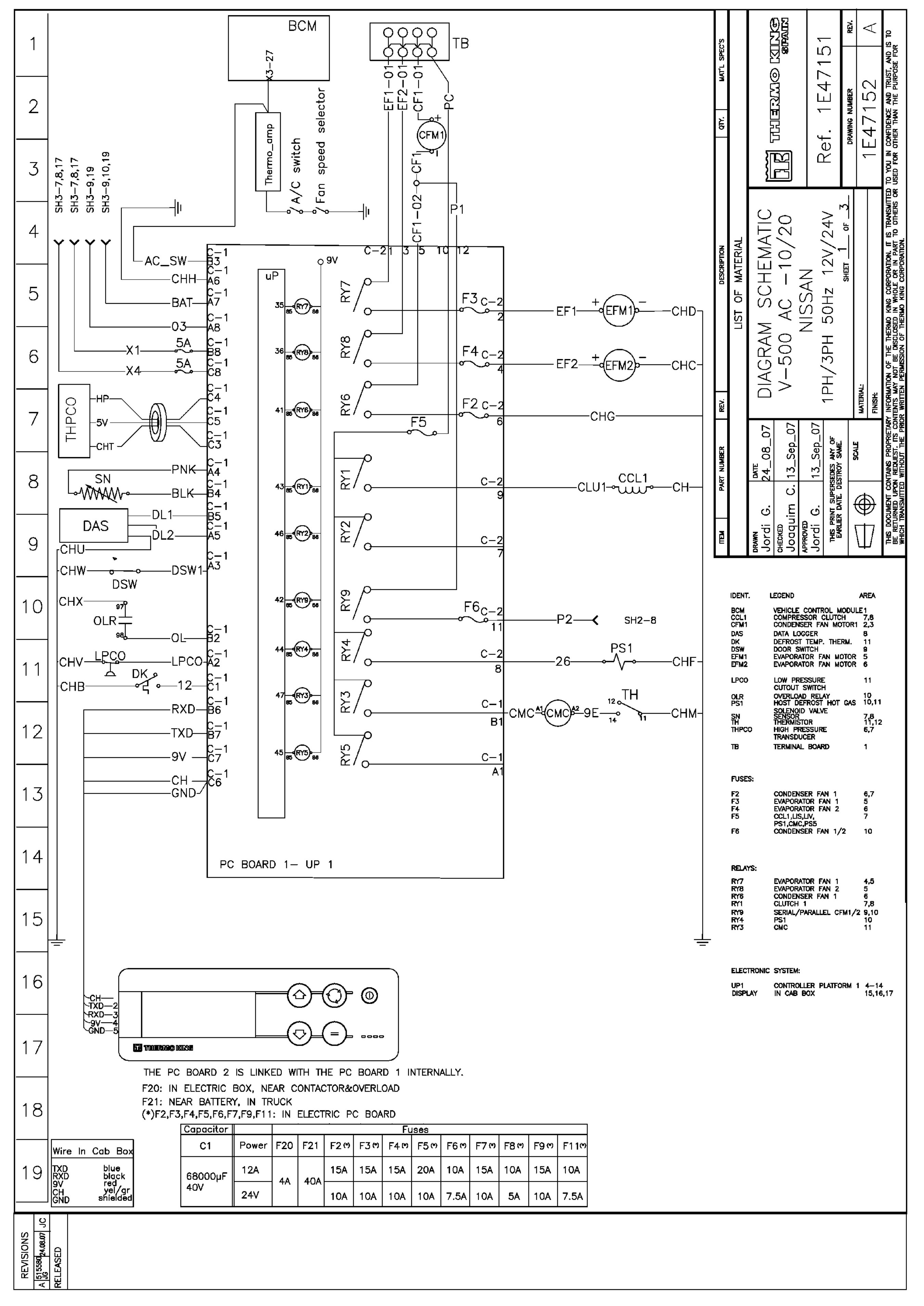 Thermo King Dsr Microprocessor Controller V 500 Ac