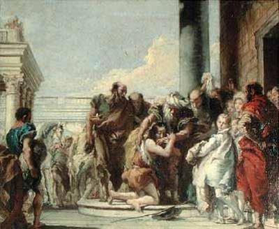 Giovanni Battista Tiepolo, Return of the Prodigal Son