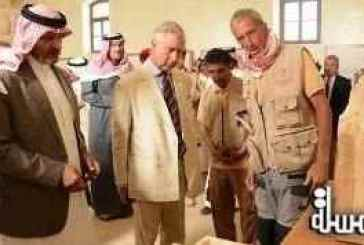 British Crown Prince Charles visits Madain Saleh and a number of historic sites in Al Ula