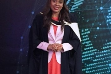 Sherin Naiken, the CEO of the Seychelles Tourism Board and mother of two qualifies with a Master of Science in Finance
