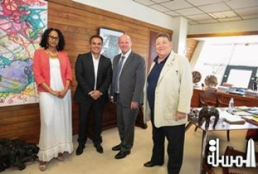 Cooperation – Tourism / Culture..Meeting between  La Reunion President Didier ROBERT and Seychelles Minister of Tourism Alain ST. ANGE