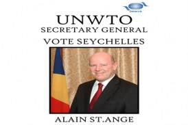 Alain St.Ange blazes his own trail for UNWTO Secretary General position