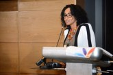Seychelles congratulated by Reunion VP Faouzia Vitry at Ministerial Meeting
