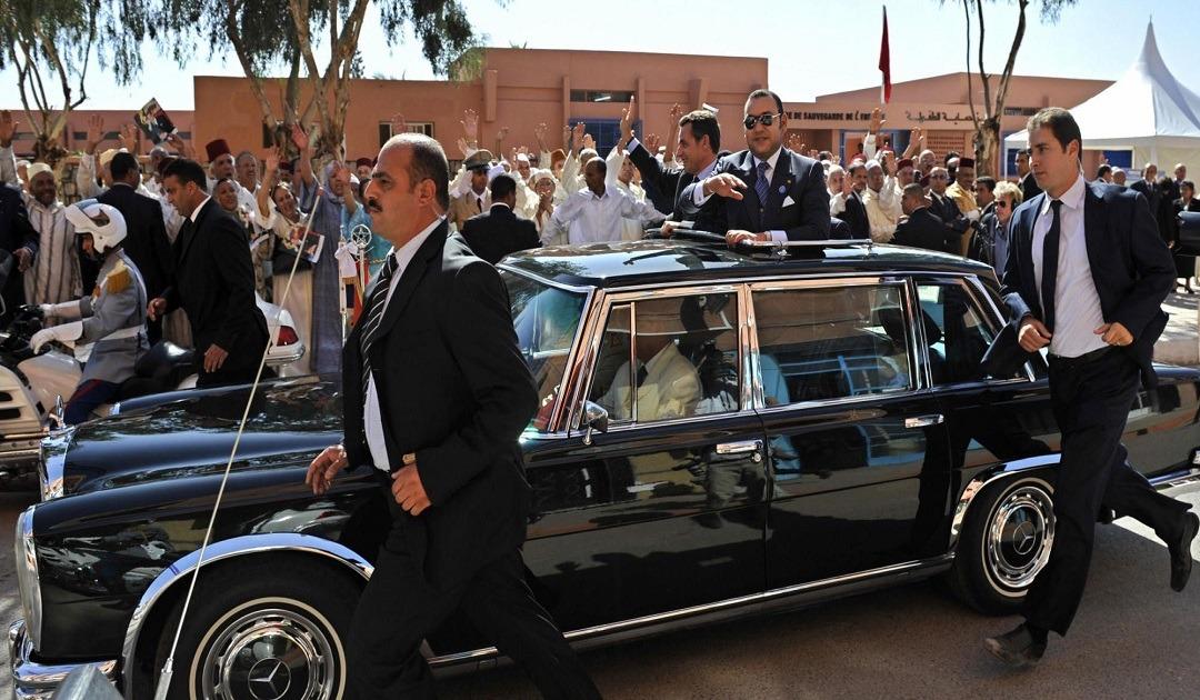وزارة الداخلية: إعتراض الموكب الملكي جريمة يعاقب عليها القانون