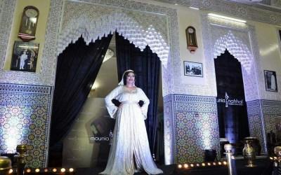 القفطان المغربي بحلة ألف ليلة وليلة