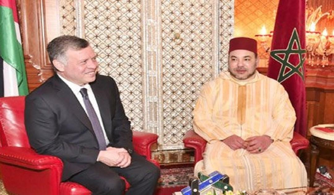 ملك الأردن في زيارة رسمية للمغرب