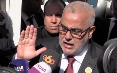 بنكيران يخرج من إجتماع لجنة الإستوزار دون أي تصريح