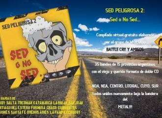 SED PELIGROSA II – EL COMPILADO ARGENTINO LANZADO EN PLENA CUARENTENA