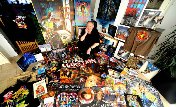Un Día Como Hoy: Happy Metal Birthday Mark Wilkinson, Maestro Del Arte Surrealista.