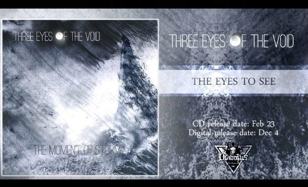 "Three Eyes Of The Emptiness Presents ""The Eyes To See"" Of The Next EP ""The Moment Of Storm"""