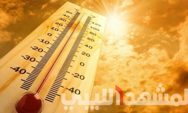 توقعات الطقس المتوقعة لليبيا خلال ثلاثة أيام ابتداء من اليوم الثلاثاء 4 مايو