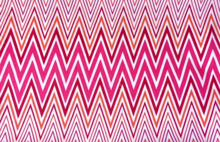 Chevron Multi Pink