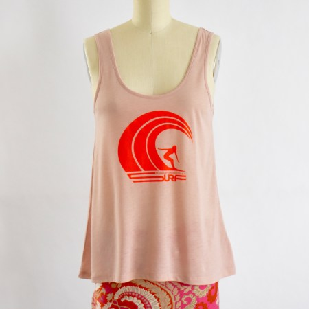 Rose Quartz Tank Top Front