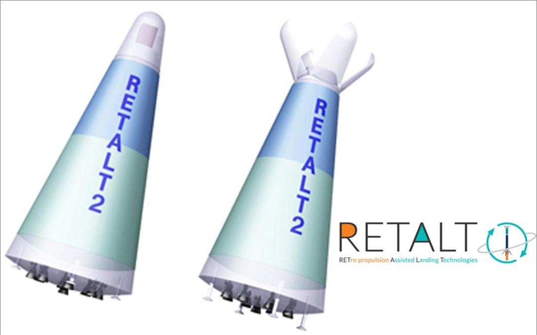 Almatech is part of the European project for the development of a Reusable Landing Rocket (RETALT)