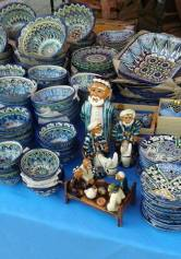 Риштанская керамика, голубая глазурь, роспись керамики, глиняная посуда, узбекская посуда, керамика из Узбекистана, Ферганская долина, ручная роспись