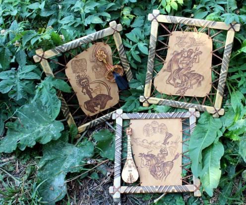 казахский орнамент, ремесло, кочевники, обучение ремеслу, кожа, сувенир