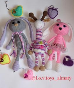игрушки в алматы, купить подарок, авторская игрушка, вязание на заказ, вязание алматы, купить пряжу алматы, вязание на заказ, игрушка на заказ, ларионова ольга, подарок детям