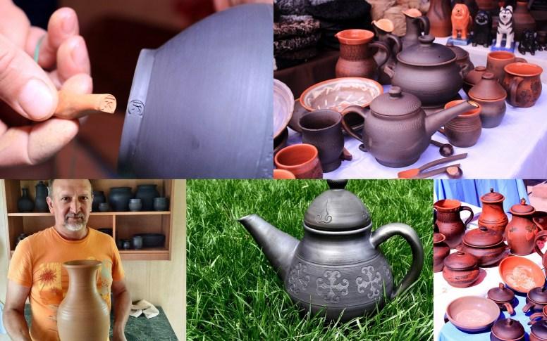 Алматинская палата ремесел, мастерская Катунь, гончарное дело, работа с глиной, работа с керамикой, купить кувшин, посуда в Алматы, сувениры алматы