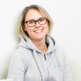Hyvinvointivalmentaja Vera Hepomäki