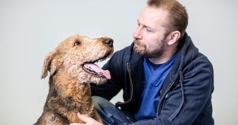 Eläinlääkäri Teppo Heinola