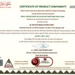 Certificate Of Product Conformity