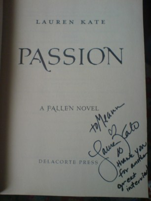 """Signed """"Passion"""""""