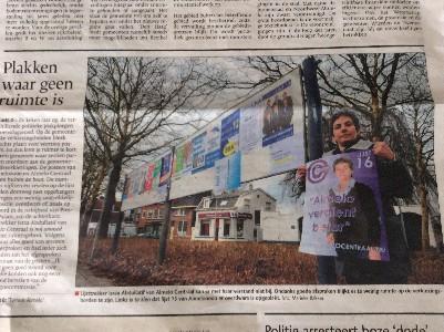 'Hangen' in de krant