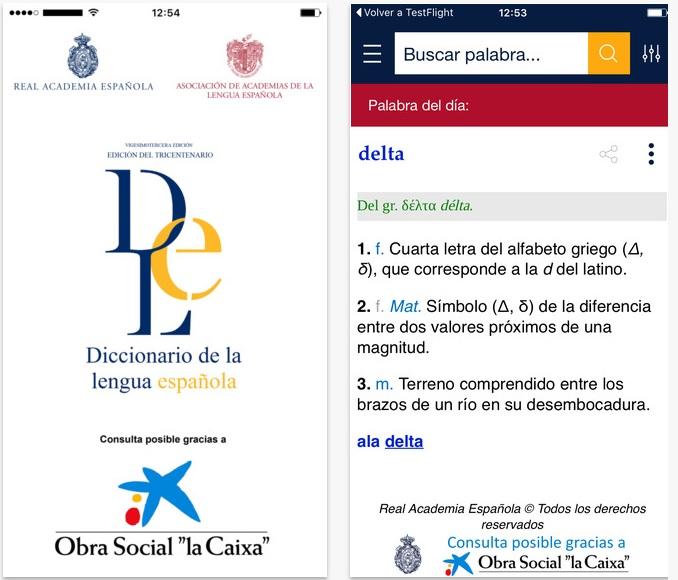 """DLe, el """"Diccionario"""" de la RAE en dispositivos móviles"""