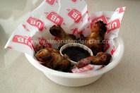 Alitas de pollo a la barbacoa en Urban Diner