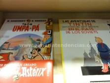 Tintín y Asterix en Millenium Cómic Almería