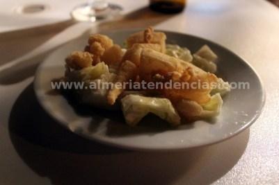 Olivos - Jibia frita