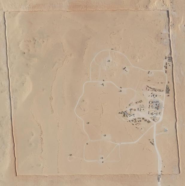 صور فضائية تظهر سحب أمريكا منظومات باتريوت من السعودية