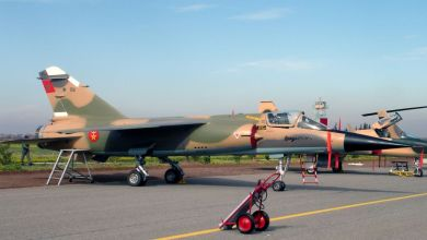 """Photo of المغرب: تحطّم طائرة مقاتلة من طراز """"ميراج إف 1"""""""