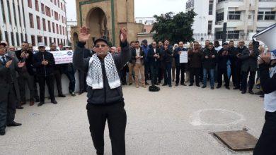 """Photo of النساخ القضائيون يعودون إلى """"ساحة النضال"""" بإضراب ثالث في ظرف شهرين"""