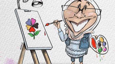 Photo of رسامو الكاريكاتير يُكرّمون أول مغربية تقتحم هذا المجال