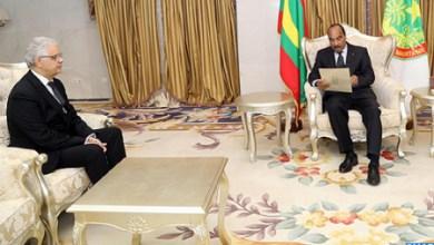 Photo of الملك يبعث رسالة خطية إلى الرئيس الموريتاني عبر نزار بركة