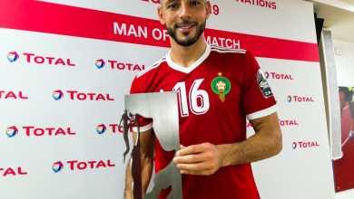 Photo of نور الدين أمرابط أفضل لاعب في مقابلة المغرب والكوت ديفوار