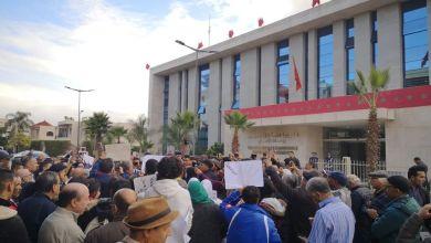 Photo of وقفة احتجاجية أمام مقر مندوبية السجون تستنكر تعذيب معتقلي الريف وتطالب بالإفراج عنهم