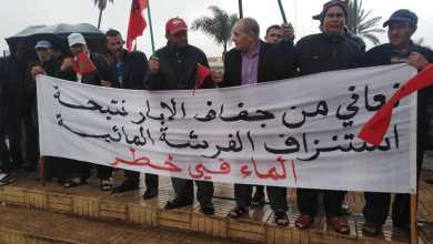 Photo of دواوير نواحي برشيد تحتج ضد ندرة المياه الجوفية