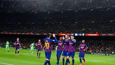 Photo of برشلونة يعبر بسهولة لربع نهائي كأس الملك وميرانديس يفاجئ إشبيلية