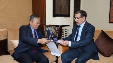 Photo of السفير الصيني بالمغرب يقدم للعثماني خطة بلده لمواجهة فيروس كورونا