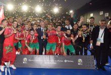 Photo of أسود القاعة يتوجون باللقب القاري الثاني تواليا بعد سحق مصر في النهائي