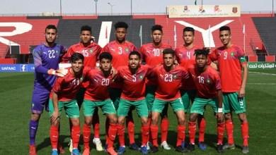 Photo of منتخب أقل من 20 سنة إلى دور ربع كأس العرب للمنتخبات بالعلامة الكاملة