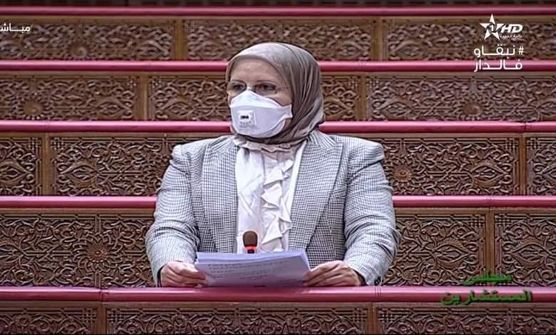 Photo of برلمانية تنتقد تخفيض الحكومة لعدد تحاليل كوفيد 19 في عز انتشار الفيروس