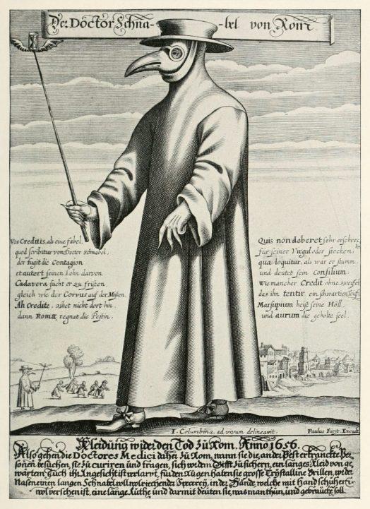 لوحة طبيب الطاعون لبول فرست