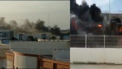 Photo of بالفيديو: شاهد حريق مهول بأحد المصانع .. المنطقة الحرة – طنجة